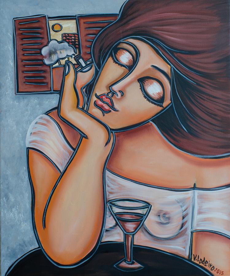VANESSA LODEIRO……Fumando espero